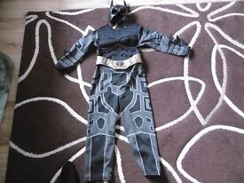 Batman costume age 5-6