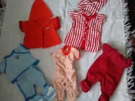 TEDDY RUXPIN OUTFITS FAB CONDITION