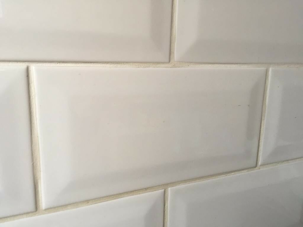 b q white gloss ceramic wall tile underground style in city of