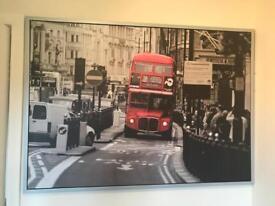 London Bus canvas - Ikea