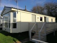 newly advertised lovely 2 bed caravan with ensuite and balcony in Felixstowe for hire