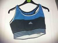 Ladies Adidas crop top size m