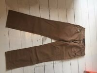 kids light brown trousers