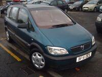 Vauxhall Zafira 1.6 i 16v Comfort 5dr (a/c)