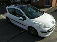 Peugeot 207 SW S 1.6 mint ultra low mileage 11 months MOT