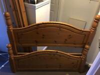 *FREE* Double Pine Bed