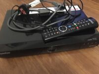 HUMAX Youview+ recording set top box