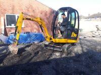 Digger driver hire