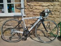 Super Light Stiff Scandium & Carbon Road Bike Frame Blacktail Race Geometry 1172g!!