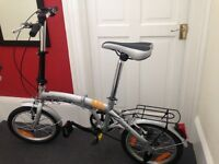 FOLD UP BIKE - Brand new! £80 including pump and lock