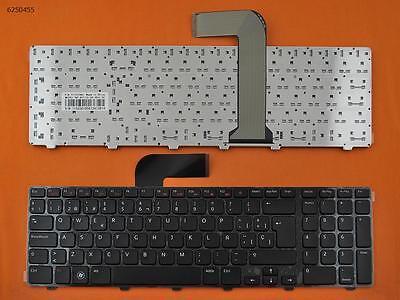 Teclado Español Dell Inspiron 17R N7110 Negro con marco    0160004-B