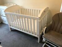 Boori cot to cotbed for sale