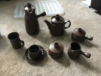 Denby Mayflower Tea and Coffee set