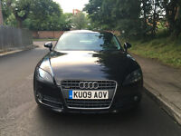 2009 AUDI TT 2.0 TDI + SATNAV + FULL LEATHERS + ALLOYS