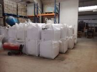 16 tonne bags of plastering sharp sand – COLLECTION ONLY