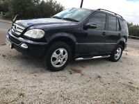Facelife 2004 Mercedes ML270 2.7 Diesel Automatic 4x4 ML CDi 4 x 4 very clean great driver