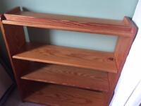 Book case - solid wood