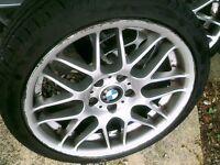 BMW ,18 INCH,SET 4, CSL REPS ALLOYS