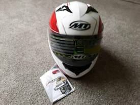 Crash helmet MT ,rsc race shell configuration