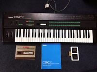 Yamaha DX7 vintage synth [ good condition ]