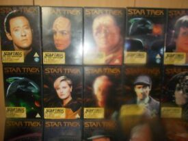 star trek the next generation dvd collectors edition 102 episodes on 34 mint condtion dvds