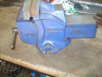 RECORD ONE TON VICE VISE 4 INCH JAW'S TOP TOOLS