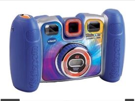 Blue kidizoom twist vtech camera X vtech v smile pocket