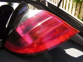 Mercedes sport rear lights.