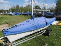 RS Vision XL sailing dinghy with Trailer and extras