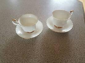 Royal Albert, Val Dor, cup and saucer set