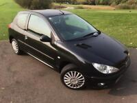 Peugeot 206 1.2L 3Dr In Mint Condition! FULL SERVICE HISTORY/1 Year MOT/HPI Clear NEW CAMBELT FITTED