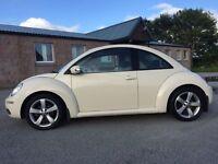 Cream Volkswagen Beetle 2008