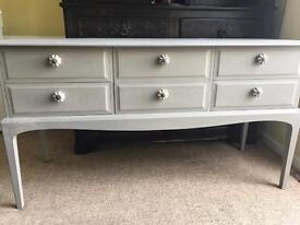 Up Cycled Vintage Stag Dresser/Console Table/Sideboard (Can Deliver)