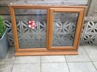 Upvc window 1185 x 895mm with sill (used)