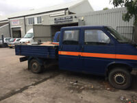 VW 1997 TRANSPORTER 2.5 TDI T4 PICK UP CREW/DOUBLE CAB NO ENGINE OR BOX,,,MAY SWAP MANCHESTER