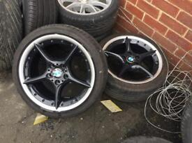 Bmw alloys and others few various other sets to clear 17 18 19 20 inch sell swap px etc