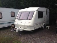 Elddis whirlwind 1995 £899 very good condition one owner from new