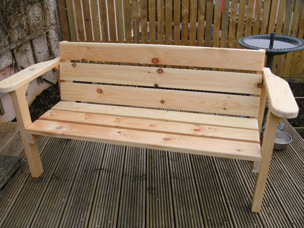 Stupendous Chunky Bench Hand Built In East End Glasgow Inzonedesignstudio Interior Chair Design Inzonedesignstudiocom