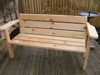 CHUNKY BENCH HAND BUILT