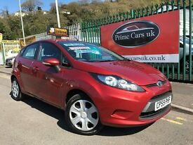 2010 (59 reg) Ford Fiesta 1.25 Edge 5dr Petrol 5 Speed Manual Low Miles