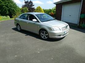 05 Toyota Avensis 2.0 d4d 110k moted to dec