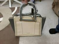 River Island Handbag - brand new - tags still attached. Grey and cream.
