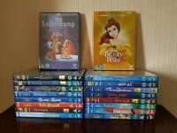 18 Disney DVD Bundle - Great condition (6 Brand New)
