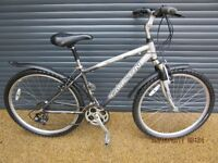 FALCO NOMAD LIGHTWEIGHT ALUMINIUM HYBRID FRONT SUSPENSION BIKE IN ALMOST NEW, LITTLE USED CONDITION.