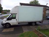 FORD TRANSIT LUTON VAN......great honest van !!! Tailift,reverse camera