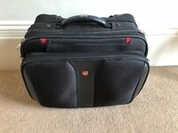 """Wenger 17"""" Laptop bag with wheels"""