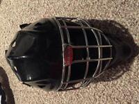 Youth Bauer goalie helmet