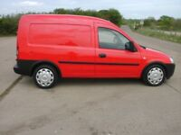 2007 Vauxhall COMBO 1.3 L. 1 OWNER. BRILLIANT CONDITION. FULL SERVICE HISTORY. LOW MILEAGE. NO VAT.