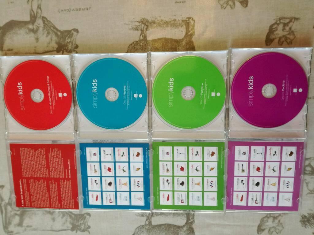 Nursery Rhymes Cd Set 4 Box In Newcastle Tyne And