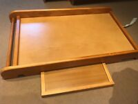 Solid Wood Cot Top changing table